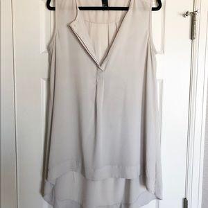 H&M Tan High-Low Tunic, size 12